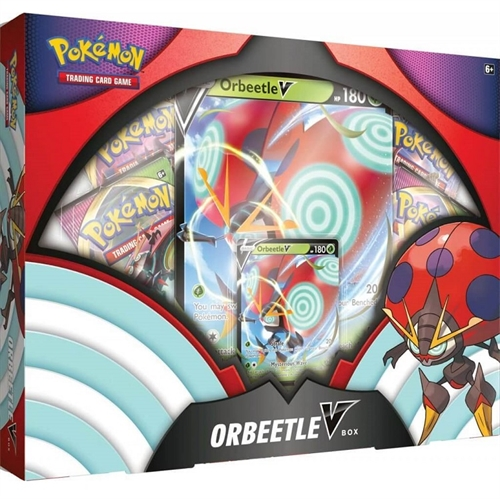 Pokemon kort - Sword and Shield - Orbeetle V Box